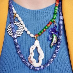 Lulas Lulas Necklace Handmade Ceramic Beads